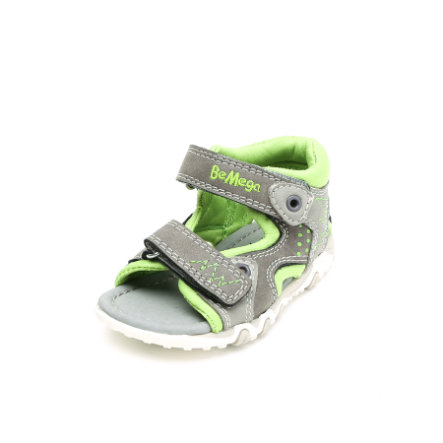 Be Mega Boys Sandale coal-lime