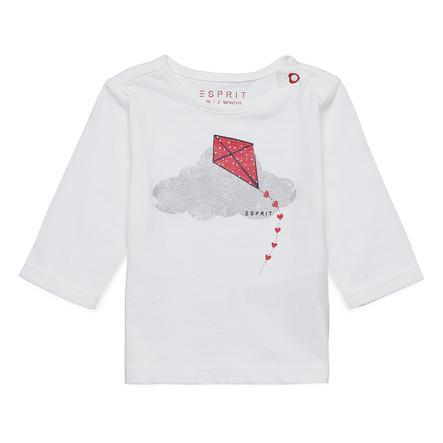 ESPRIT Pitkähihainen paita luonnonvalkoista lohikäärmettä