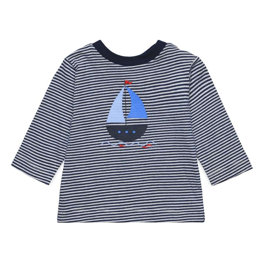 ESPRIT Shirt gestreift Segelboot