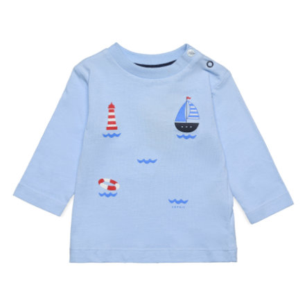 ESPRIT T-Shirt blau Segelboot
