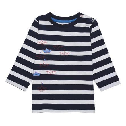 ESPRIT Shirt met lange mouwen marine