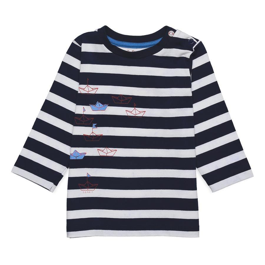 ESPRIT Langermet skjorte marine