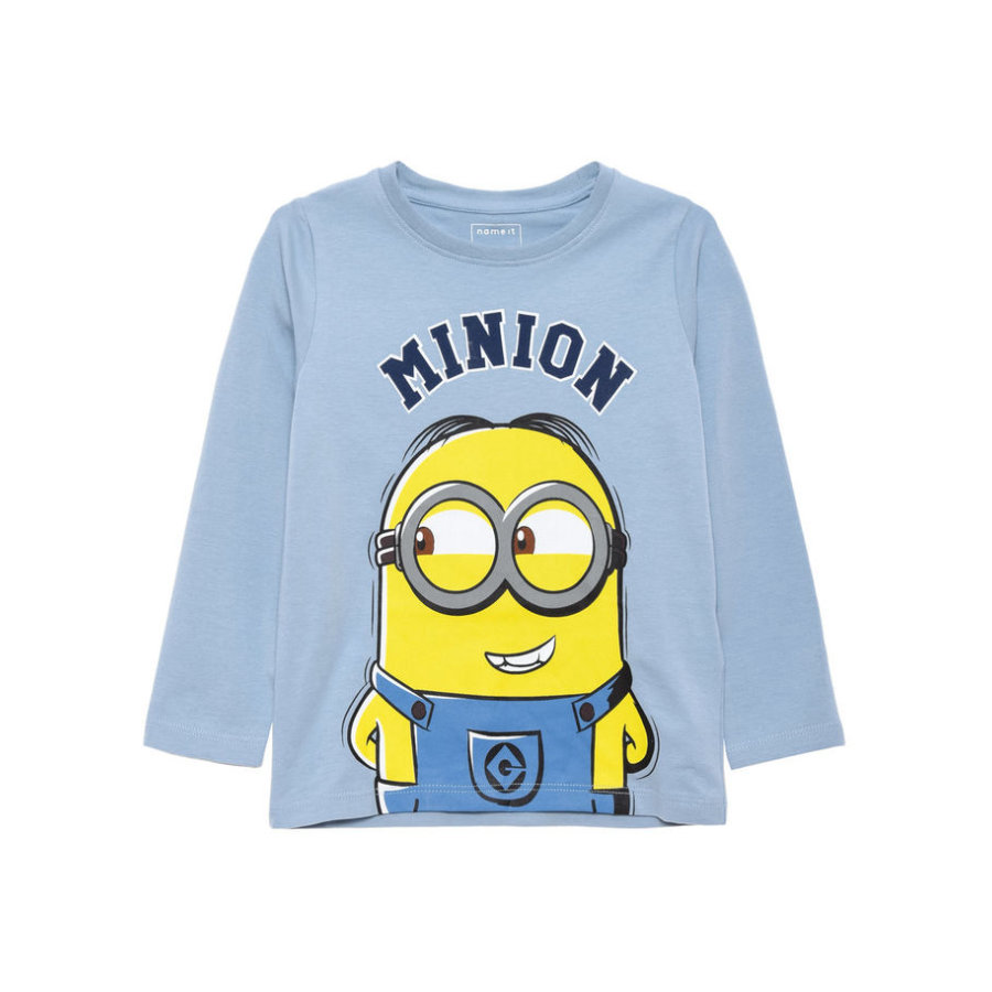name it Boys Longsleeve Minions ashley blue
