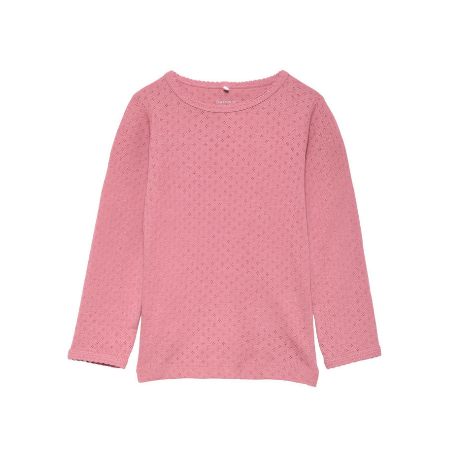 name it Girls Longsleeve Saroline heather rose