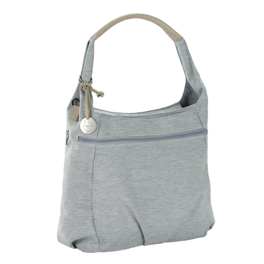 LÄSSIG Luiertas Green Label Hobo Bag grey