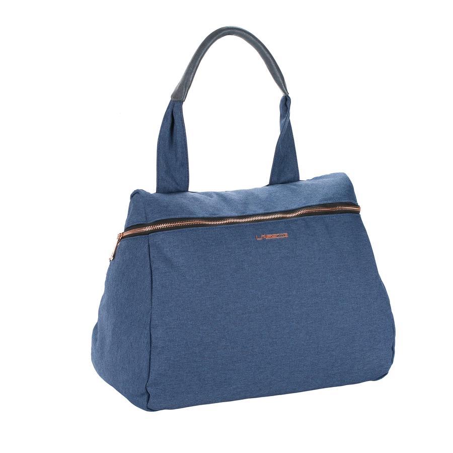 LÄSSIG Bolso cambiador Glam Rosie azul