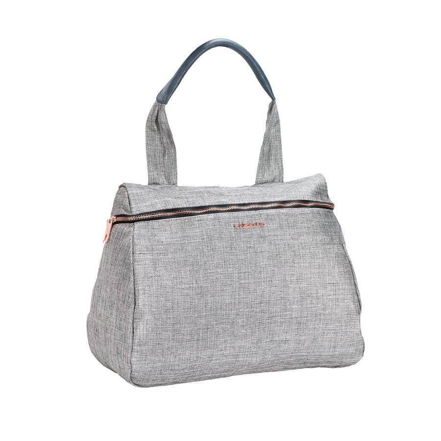 LÄSSIG Sac à langer Glam Rosie Bag, anthracite glitter