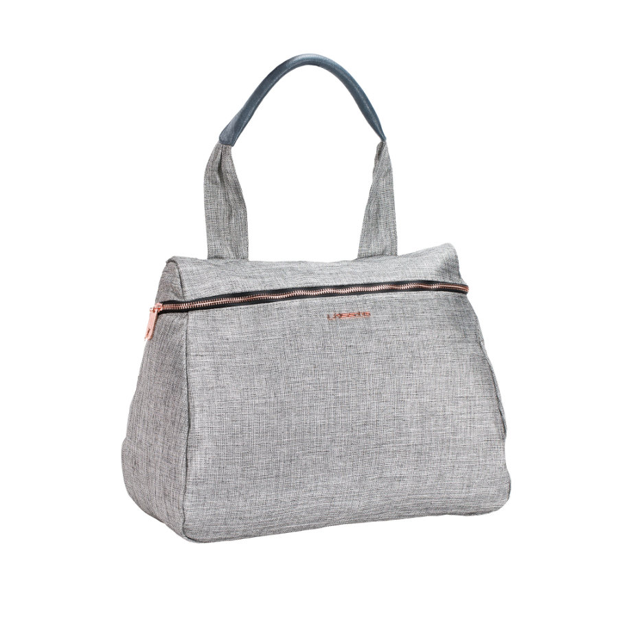 LÄSSIG Wickeltasche Glam Rosie Bag anthracite glitter
