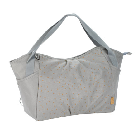 LÄSSIG Casual Twin Bag Triangle light grey