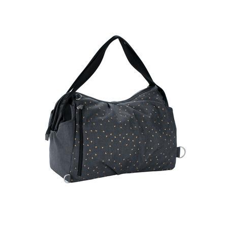 LÄSSIG Wickeltasche Casual Twin Bag Triangle dark grey