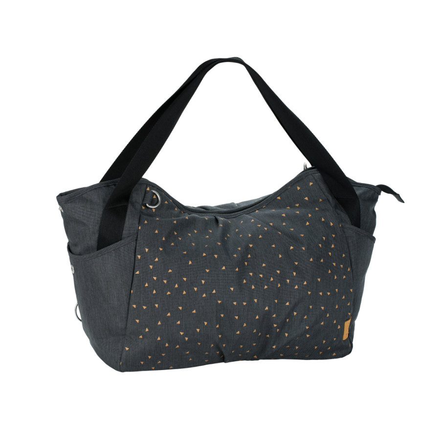 LÄSSIG Casual Twin Bag Triangle dark grey