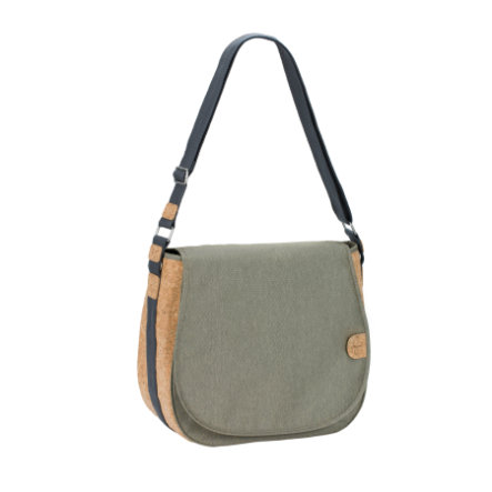 LÄSSIG Green Label Saddle Bag gold mélange