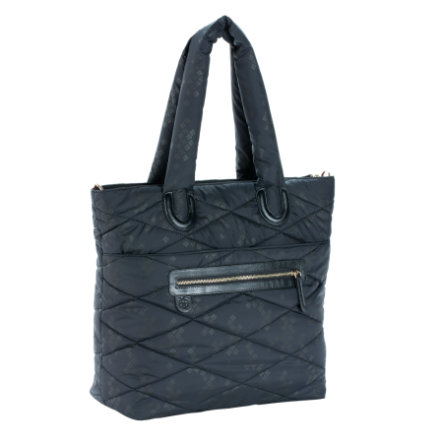 LÄSSIG Glam Wickeltasche Glam Tote Bag Pacific Flower black