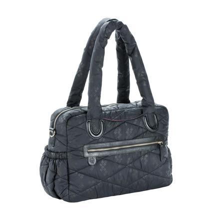 LÄSSIG Luiertas Glam Bowler Bag Pacific Flower black