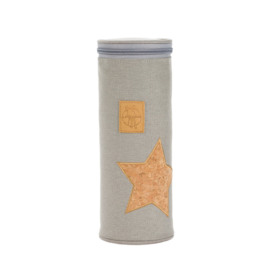Lässig Pokrowiec na butelkę Holder Single Cork Star light grey