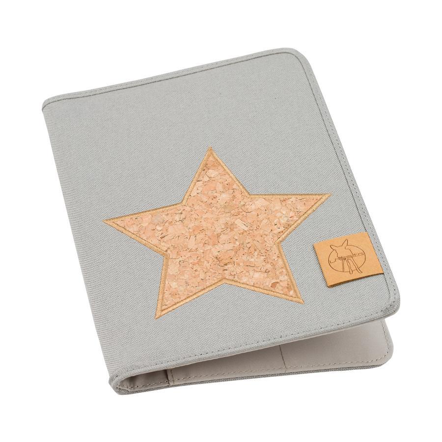 LÄSSIG Organiseur Mums Casual Cork Star, light grey