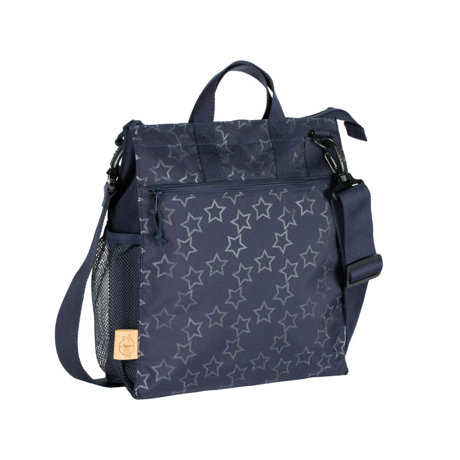 LÄSSIG Luiertas Casual Buggy Bag Reflective Star navy