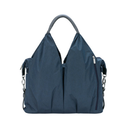 LÄSSIG Green Label Neckline Bag Spin Dye blue melange