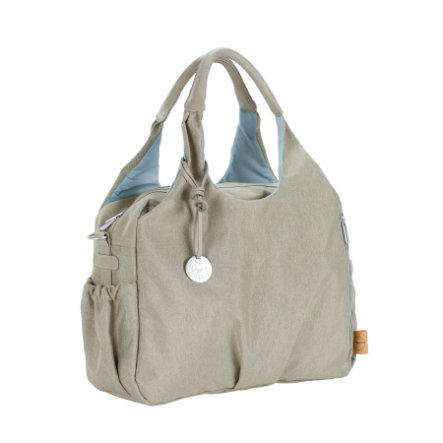 LÄSSIG Wickeltasche Green Label Global Bag Ecoya sand