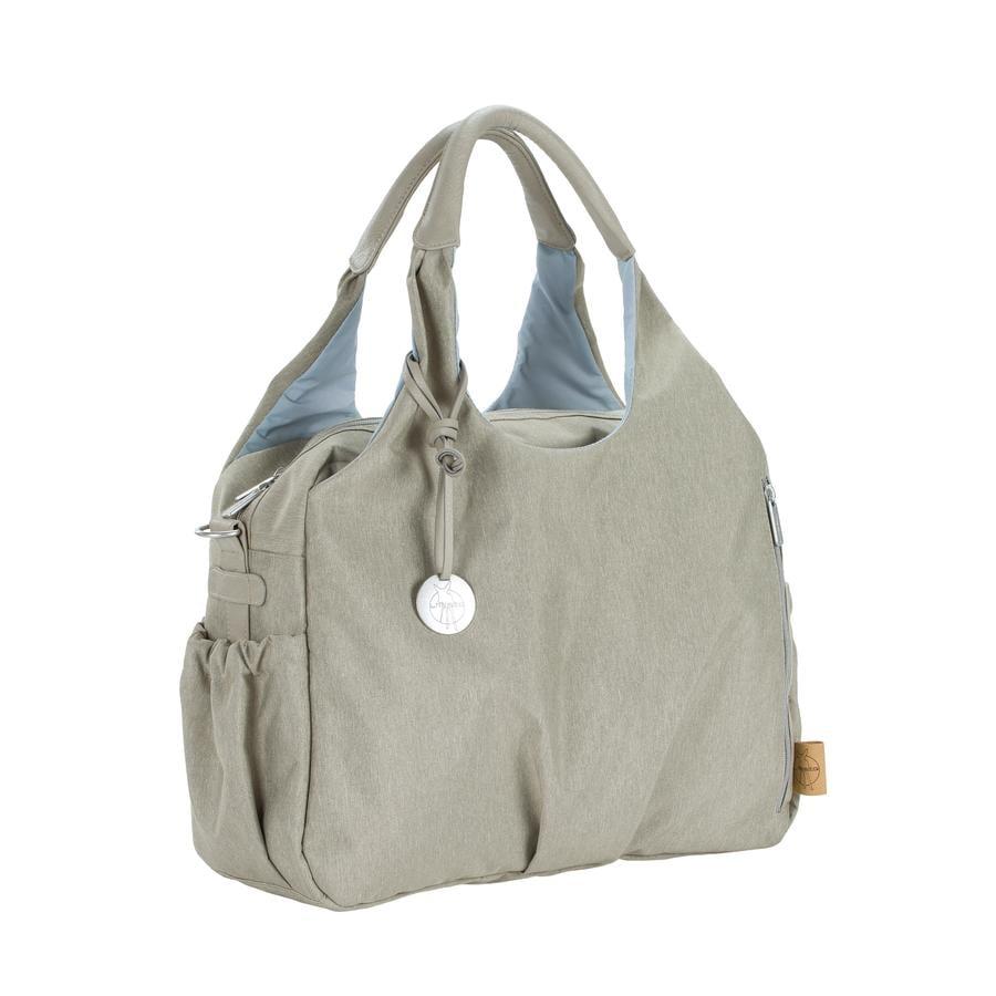 LÄSSIG Torba na akcesoria do przewijania Green Label Global Bag Ecoya sand