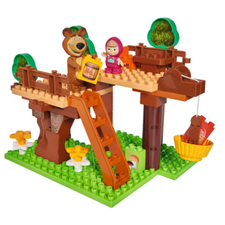 BIG PlayBIG Bloxx Masha and the Bear - Tree Hideout