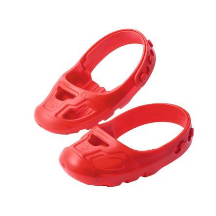 BIG Osłonki na buty- Shoe Care, czerwony