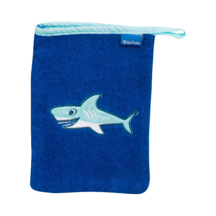 Playshoes Frotte-Waschhandschuh Hai 15x20 cm