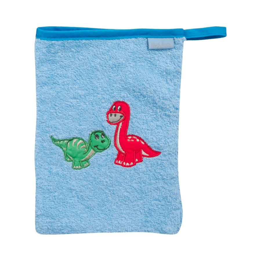 Playshoes Frotte-Waschhandschuh Dino