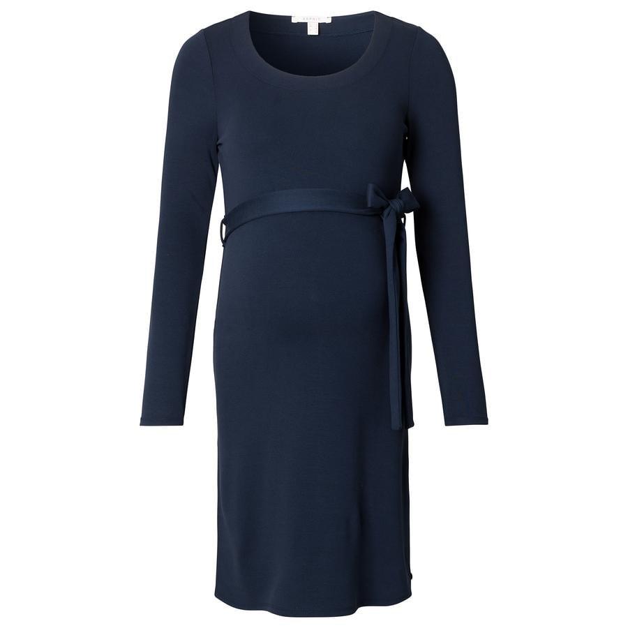 ESPRIT Robe de grossesse bleu foncé