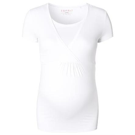 ESPRIT Obwód T-Shirt biały