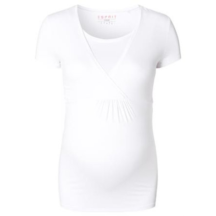 ESPRIT Omstandigheid T-Shirt wit