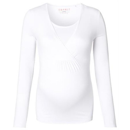 ESPRIT Moderskap Långärmad vit
