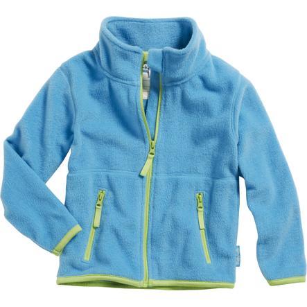 Playshoes Flísová bunda světle modrá