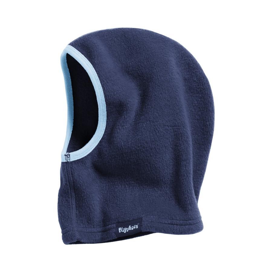 Playshoes Flísová čepice - kukla tmavě modrá