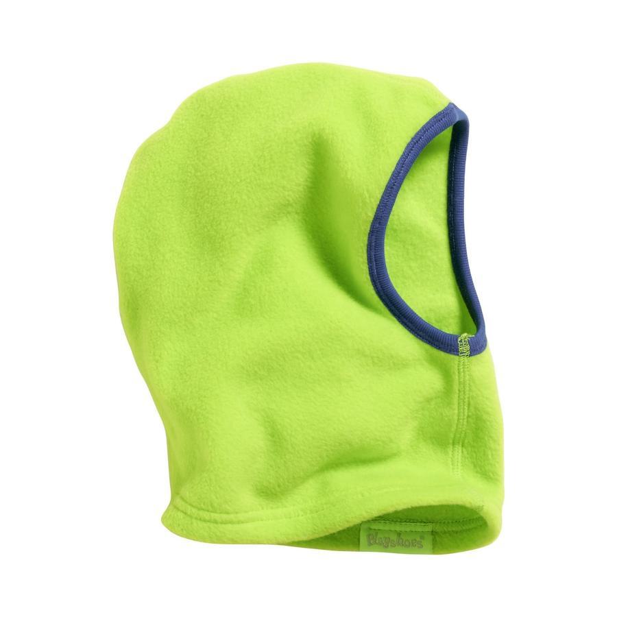 Playshoes Flísová čepice - kukla žlutá