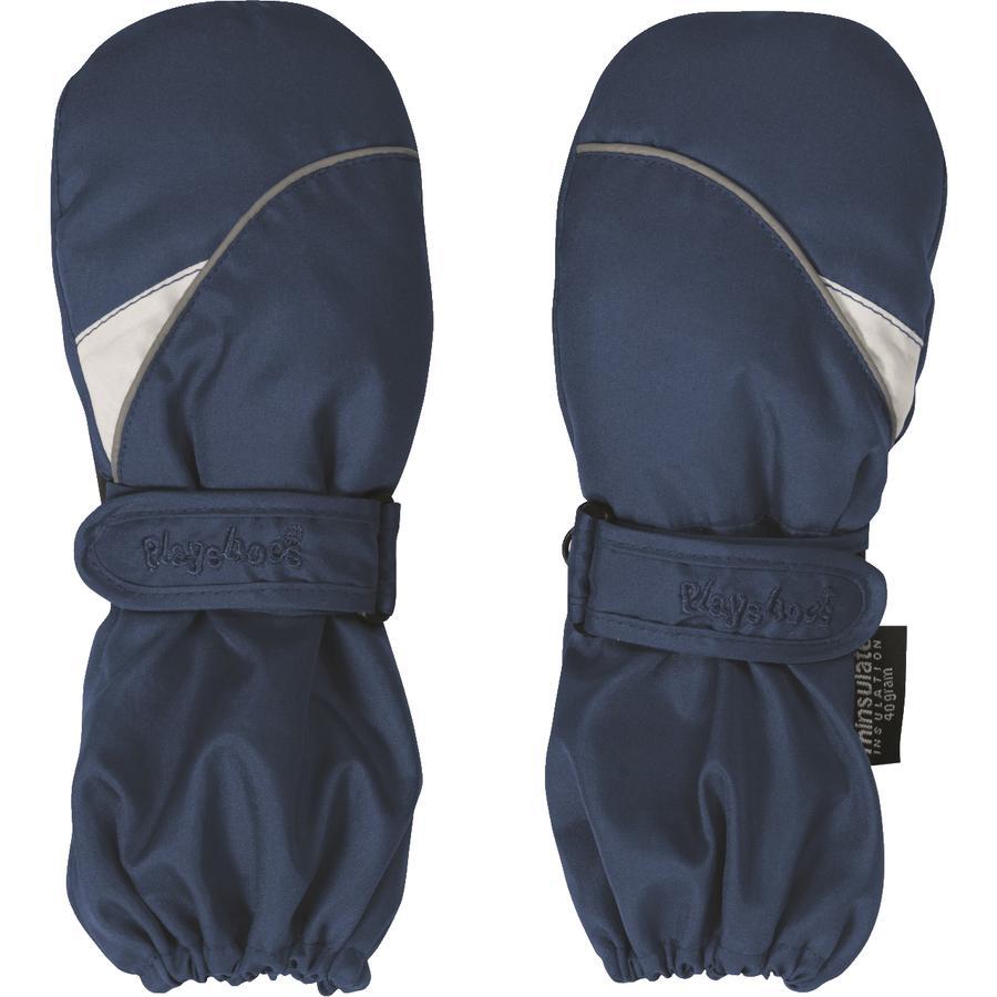 Playshoes mitaines bleu