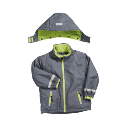 Playshoes Snow-Jacket uni grey