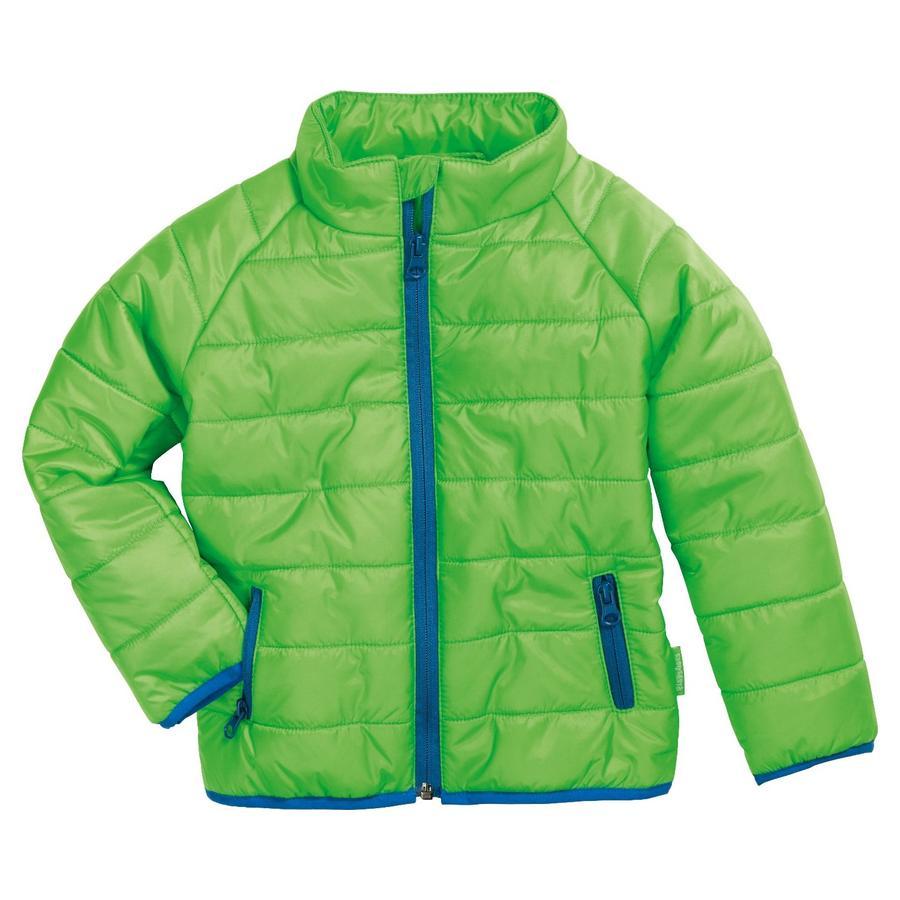 Playshoes Prošívaná bunda uni zelená