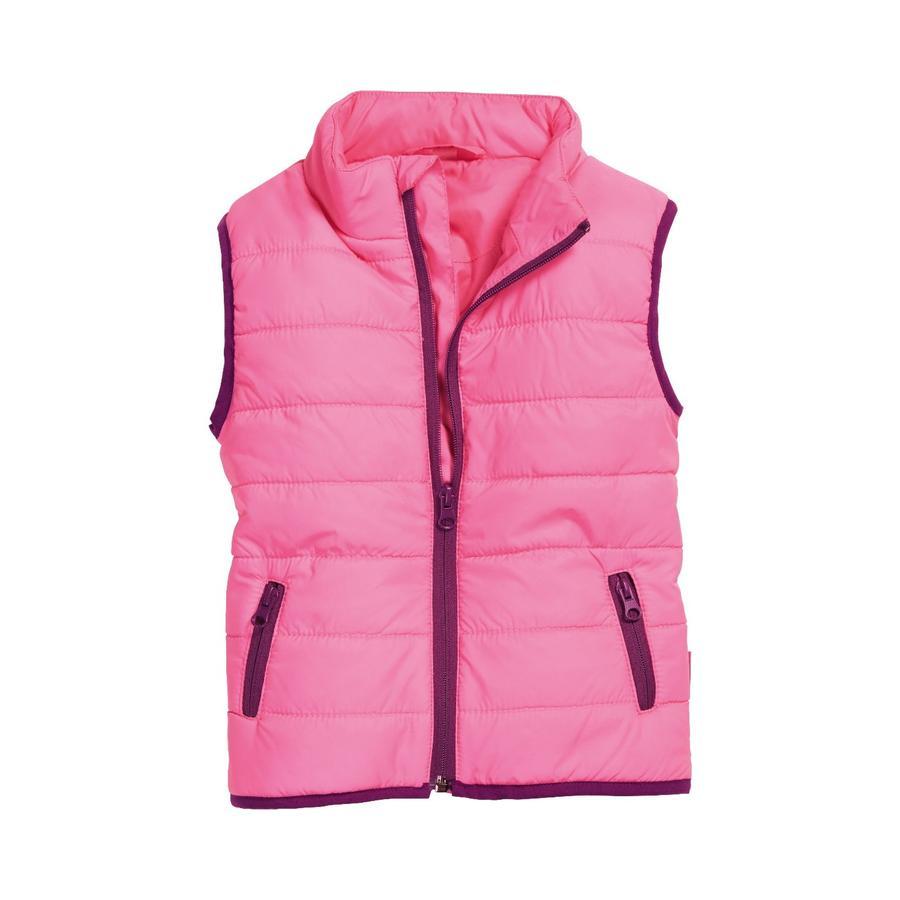 Playshoes prošívaná vesta uni pink