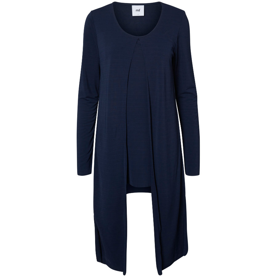 mama licious Umstands Cardigan MLWRAPING navy blazer
