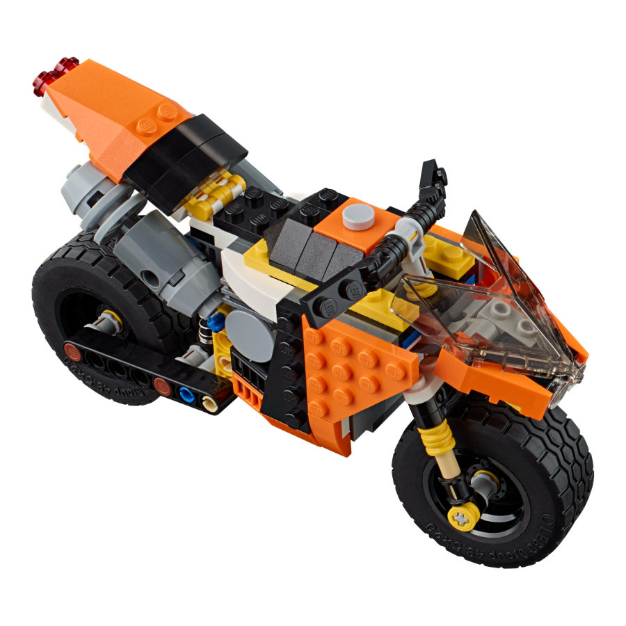 LEGO® Creator - La moto orange