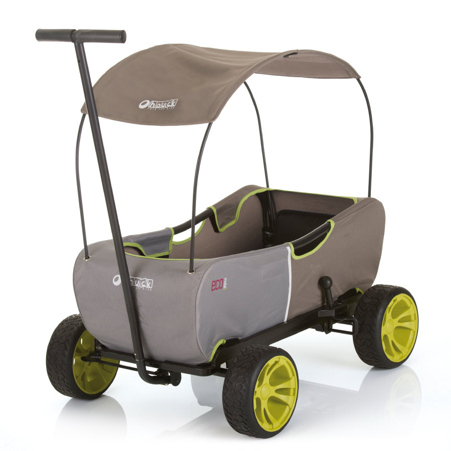 hauck TOYS Chariot de transport à main enfant Eco Mobil Forest