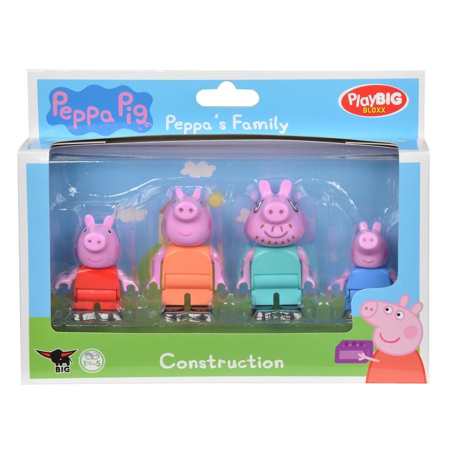 BIG Juega a BIG Bloxx Peppa - La familia de Pig Peppa