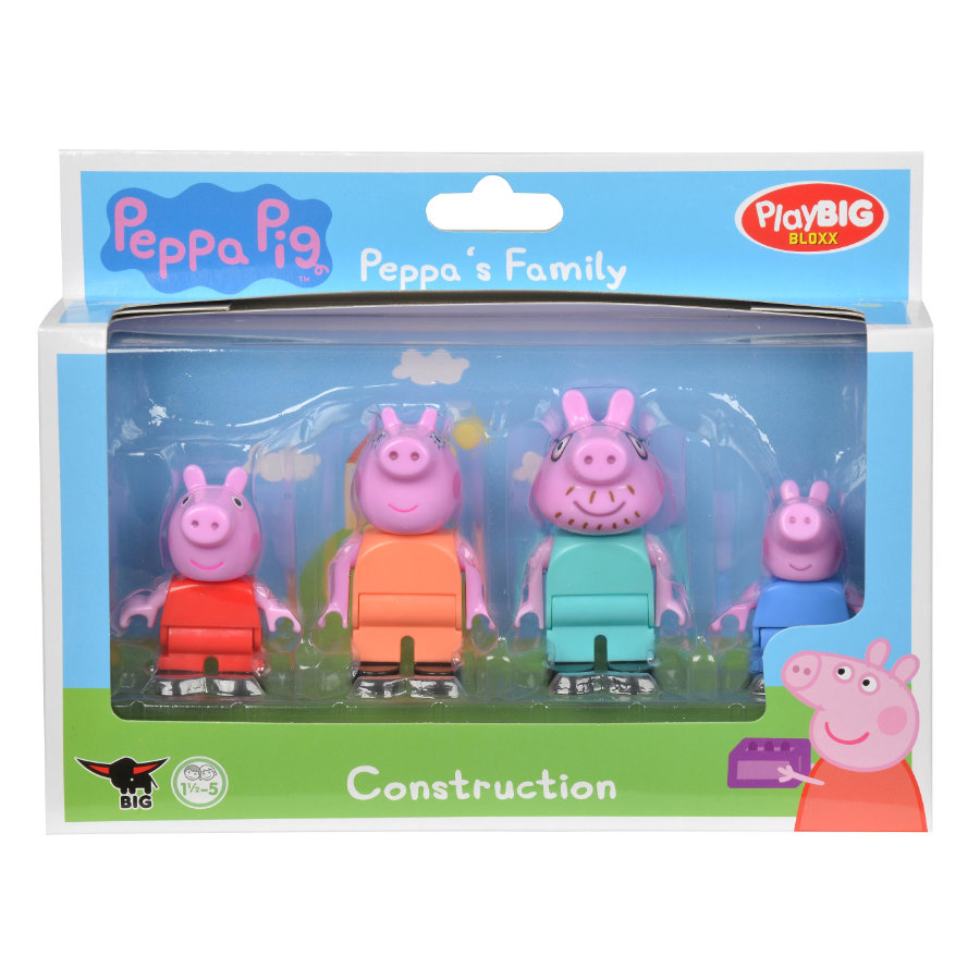BIG PlayBIG Bloxx Peppa Pig - Rodzina Peppy
