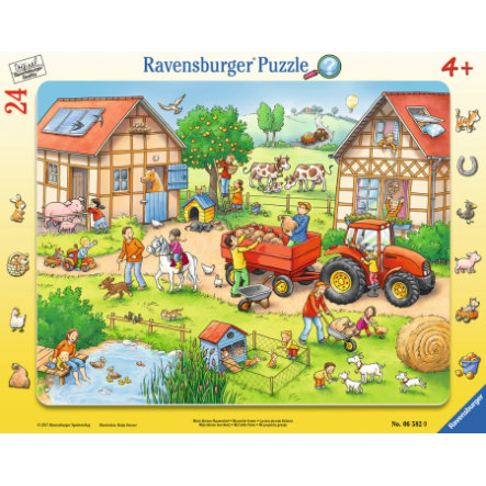 Ravensburger Rahmenpuzzles - Mein kleiner Bauernhof, 24 Teile