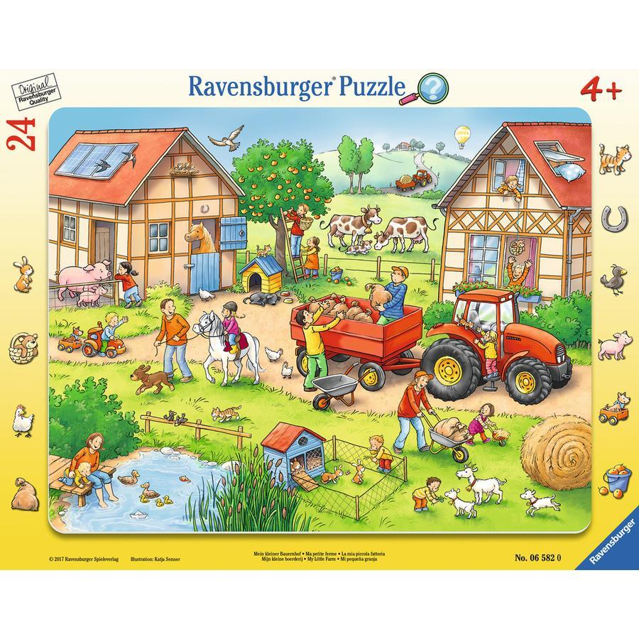 Ravensburger Rammepuslespil - Min lille bondegård, 24 dele