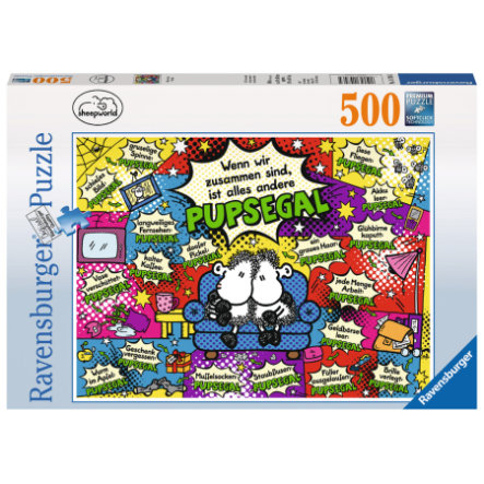 Ravensburger Puzzle 500 - Sheepworld: Alles andere ist pupsegal