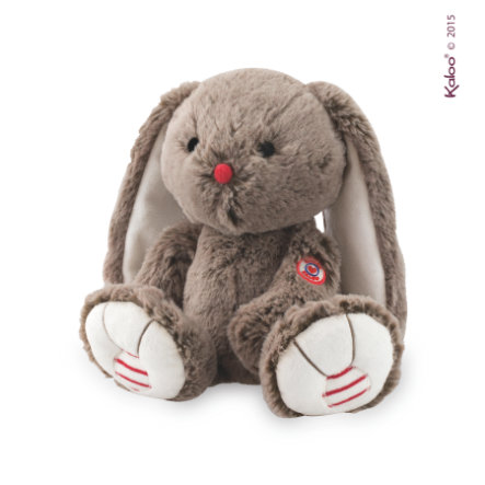 Kaloo Peluche Lapin Rouge, cacao, 31 cm