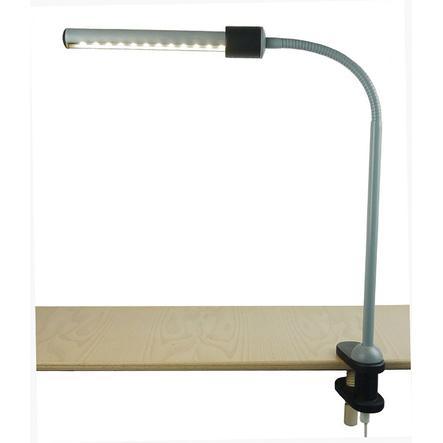 niermann Standby Lámpara de sujeción, gris schwa rz