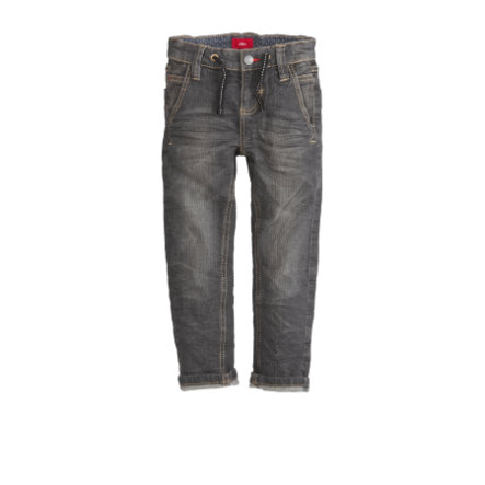 s.Oliver Boys Jeans en jean noir stretch régulier